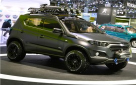 Chevrolet shows a Niva concept car
