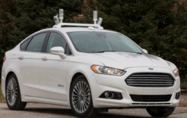 Ford's Fusion hybrid automatic investigation car quickly could be roaming Michigan streets