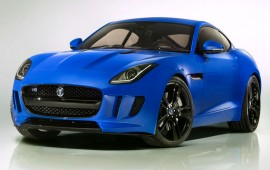 Debut of the newest Jaguar F-Type equipped with a manual gearbox and all-wheel-drive