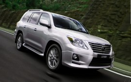 Lexus presents its supercharged LX 570 for the Middle East