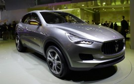 First shots of the new Maserati Levante
