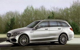The new Mercedes C-class wagon