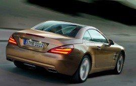 Mercedes is recalling its SL-class cars launched in 2013