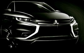 Mitsubishi introduces its new Outlander PHEV concept-S in Paris this year