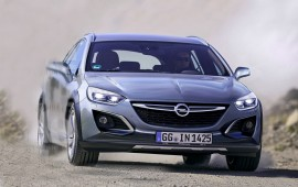 General Motors tests its new Opel Astra