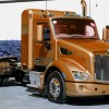 Peterbilt Shows Off New CNG Daycab Trucks in Long Beach