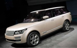The long-wheelbase Range Rover will be able in a hybrid version