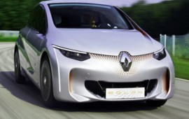The Renault EOLAB concept car