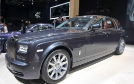 Rolls-Royce Phantom Metropolitan has presented in Paris