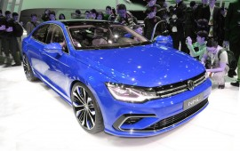 Volkswagen presents its new mid-sized coupe in Beijing this week