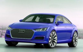 Audi TT Sportback concept is introduced in Paris