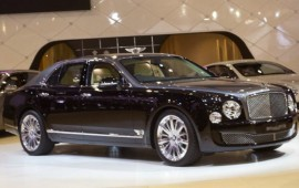 The revealed output of the 2015 Bentley Mulsanne