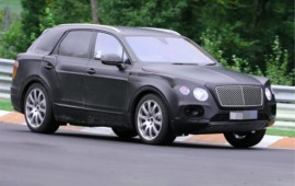 Bentley has named its SUV