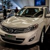 The Chinese auto manufacturer presents its crossover in Detroit