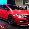 Honda showed the newest Civic concept in Geneva