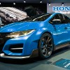 The Honda engineers have presented the Civic R type for the European market