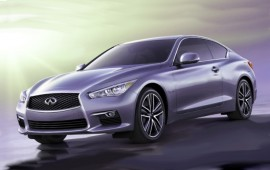 Latest Infiniti's teaser of the Q60 concept