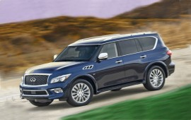 Upgraded Infiniti Q70 and QX80 models