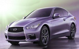 Infiniti presents the new Q60 concept ahead of the Detroit auto show