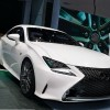 Lexus presented new details of the new RC F