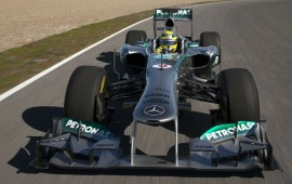 Mercedes presents a special model on the occasion of the Formula One victory