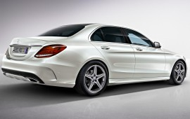 Mercedes has declared prices for the 2015 C-class