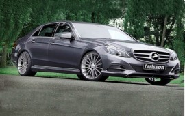 Carlsson will upgrade the renewed Mercedes E-class