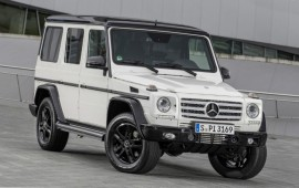 Mercedes G-class celebrates its 35-year anniversary