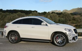 Latest Mercedes GLE63 coupe in AMG