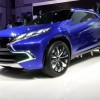 A teaser of the new Mitsubishi crossover concept