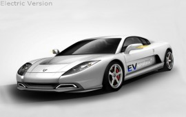 The Korean sports car will be available in an electric version