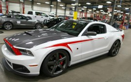 The latest Ford Mustang in Roush tuning