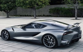 Toyota FT-1 Graphite Concept 2014