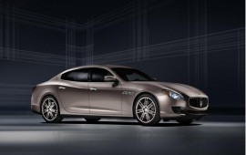 New Maserati Quattroporte is introduced at the Motor Show in Frankfurt