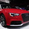 New Audi A3 Cabrio on his way to Frankfurt