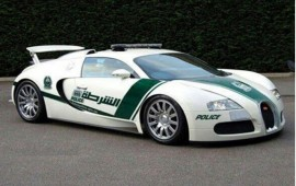 Dubai police continues to impress us, provides Bugatti Veyron to its navy