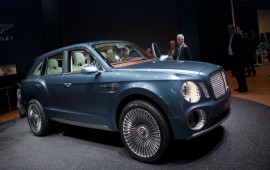 New Bentley Confirmed for UK Production