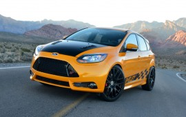 Ford Focus ST has become sportier by Shelby efforts.