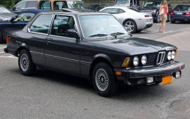 1982 BMW 320i drive review