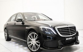 Mercedes S-class tuned by Brabus