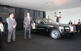 "Rolls Royce company starts its first ""Boutique Showroom"" in Bangkok, Thailand"
