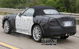 Fiat 124 Spider said to have masculine styling
