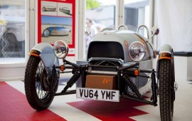 Goodwood LIVE Morgan Motors' all-electric EV3 concept