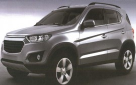Russia-bound Chevrolet Niva revealed in patent images