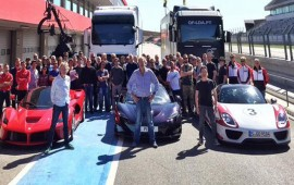 Clarkson and crew start filming new car show