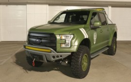 Ford brings one-off F-150 Halo Sandcat to E3