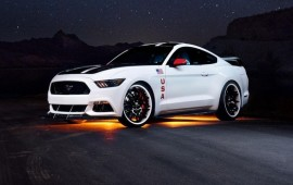 Ford details one-off Mustang Apollo Edition