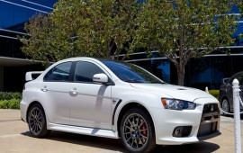 LIVE Mitsubishi unveils Lancer Evolution Final Edition