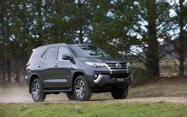 Toyota introduces global market Fortuner SUV