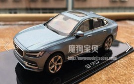 2016 Volvo S90 leaked in model car form